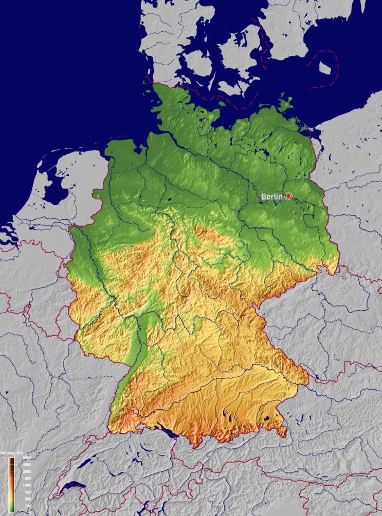 carte Allemagne - source GinkgoMaps - http://www.ginkgomaps.com
